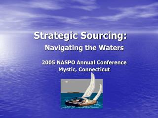 Strategic Sourcing: