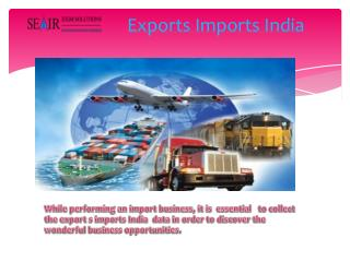 How Can Get Exports Imports India Data For Business?