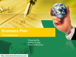 Business Plan - The Importance