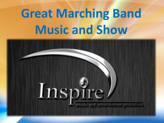 Great Marching Band Music and Show