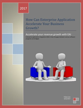 How Can Enterprise Application Accelerate Your Business Growth?