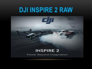 DJI Inspire 2 RAW