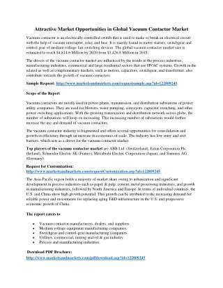 Attractive Market Opportunities in Global Vacuum Contactor Market