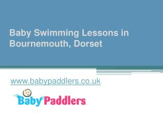 Baby Swimming Lessons in Bournemouth, Dorset - www.babypaddlers.co.uk
