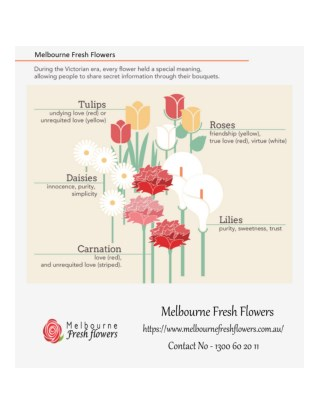 Online Flower Delivery in Melbourne - Melbourne Fresh Flowers
