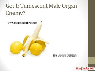 Gout: Tumescent Male Organ Enemy?