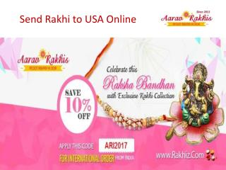 Send Rakhi to USA On Raksha Bandhan To Your Brothers