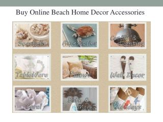 Beach Decor Accessories for your Dream Home
