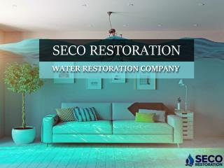 Water Damage Restoration Service in Houston - Seco Restoration
