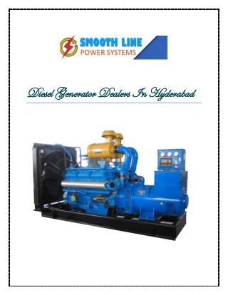 Diesel generator dealers in hyderabad