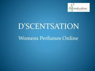 Womens Perfumes Online