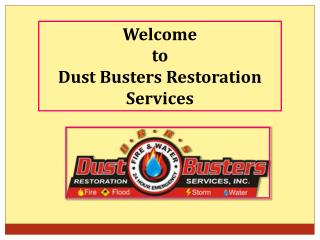 Benefits of Carpet Cleaning Services | Dust Busters Restoration