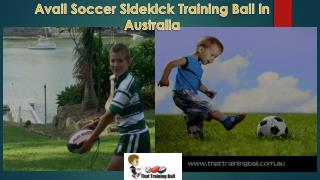 Easy Soccer Training Aid in Australia