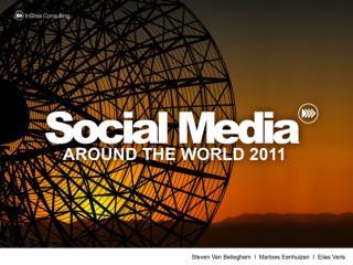 Social media around the world 2011