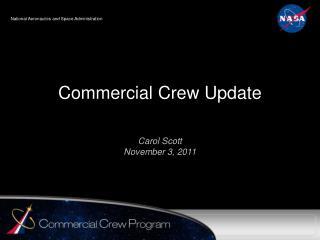 Commercial Crew Update