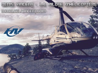 Denis Vincent - la Pilote d'hélicoptère