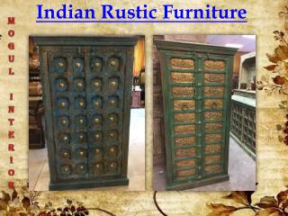 Indian Rustic Furniture