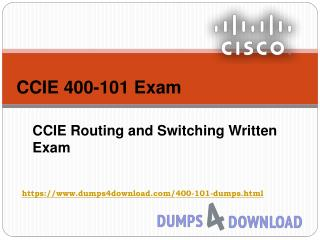400-101 Dumps4download | Pass Cisco 400-101 Exam With Cisco