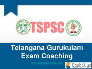 TSPSC Gurukulam Screening Test Online Coaching Classes