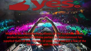 Djs Hire for Your Corporate Events in London