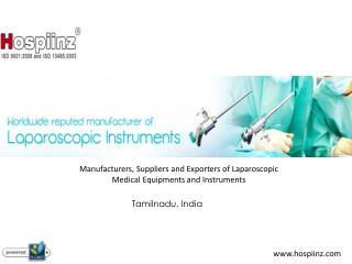 Laparoscopic Equipment Manufacturers