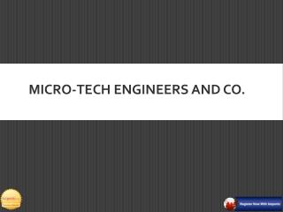 Micro Tech Engineers is Heavy Crane Manufacturer in Pune