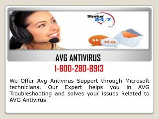Avg Phone Number USA  1-800-280-8913