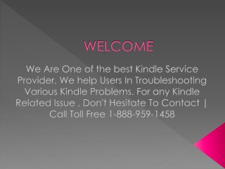 Kindle fire technical support phone number