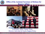 Office of the Assistant Secretary of Defense for Reserve Affairs