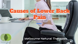 What is The Main Cause of Lower Back Pain?