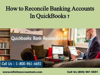 How to Reconcile Banking Accounts In QuickBooks