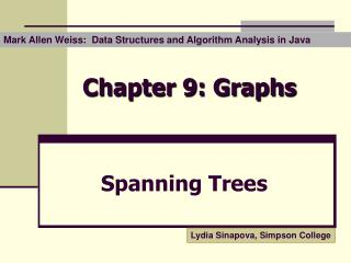 Chapter 9: Graphs