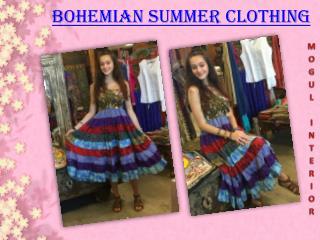 BOHEMIAN SUMMER CLOTHING
