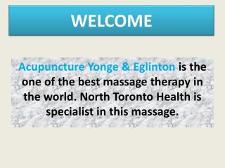Acupuncture Yonge & Eglinton
