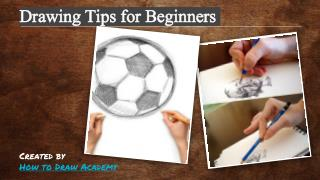 Drawing Tips for Beginners - Howtodraw