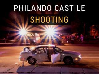 The scene of the Philando Castile shooting