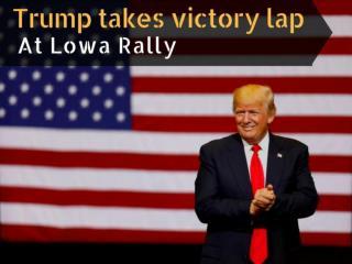 Donald Trump Rally in Cedar Rapids, Iowa