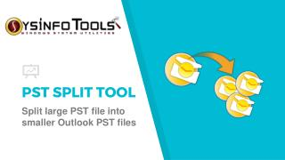 Split PST Files