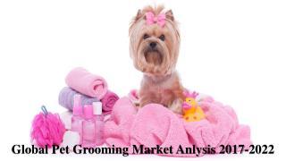 Global Pet Grooming Market Anlysis 2017-2022