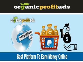Get Paid to Click Links, Revenue Sharing Sites - Organicprofitads