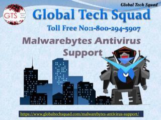 Malwarebytes Antivirus Support Total protection No. 1-800-294-5907
