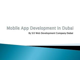 Mobile App Development In Dubai