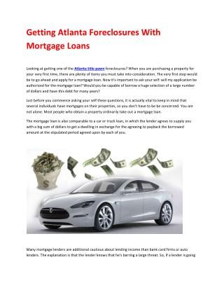 Title Loans in Atlanta – Atlanta Title Pawn ® | Call 770-906-6965