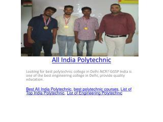 All India Polytechnic
