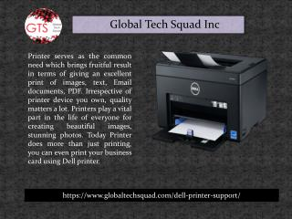 Best Dell Printer Support Toll Free 1-800-294-5907