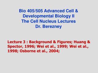Bio 405