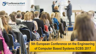 5th European Conference on the Engineering of Computer Based Systems ECBS 2017