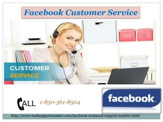 Why is everyone appreciating the Facebook Customer Service team? @ 1-850-361-8504