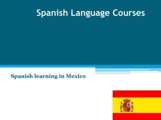 Spanish Language Online Courses