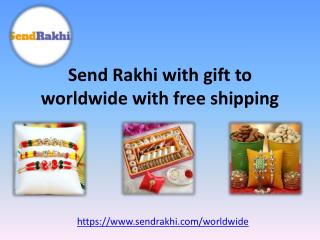 Send rakhi gifts to USA from Sendrakhi.com